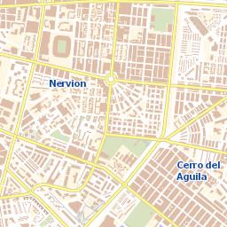 Mapa Callejero De Sevilla.Urbanismo Delegacion De Urbanismo Ayto Sevilla